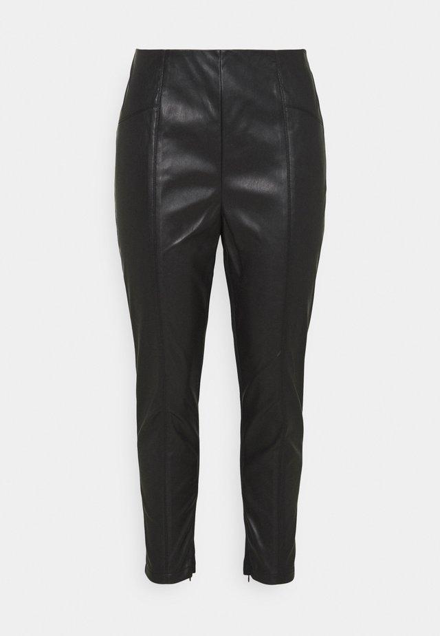 MISSY SPLICED - Leggings - black