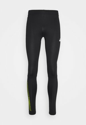 ICON  - Tights - performance black/lime zest