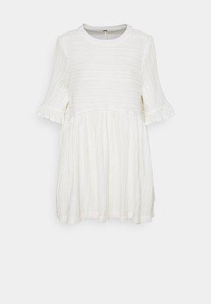 TAKE A SPIN - Jersey dress - ivory