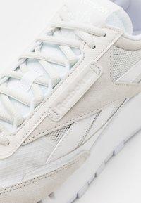 Reebok Classic - CL LEGACY UNISEX - Sneakersy niskie - white/trace grey/skull grey - 5