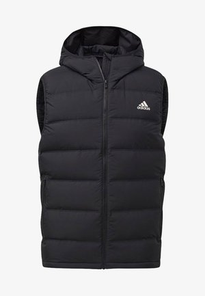 HELIONIC HOODED DOWN VEST - Vesta - black