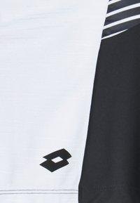 Lotto - TOP TEN II SKIRT - Sportovní sukně - bright white/black - 2
