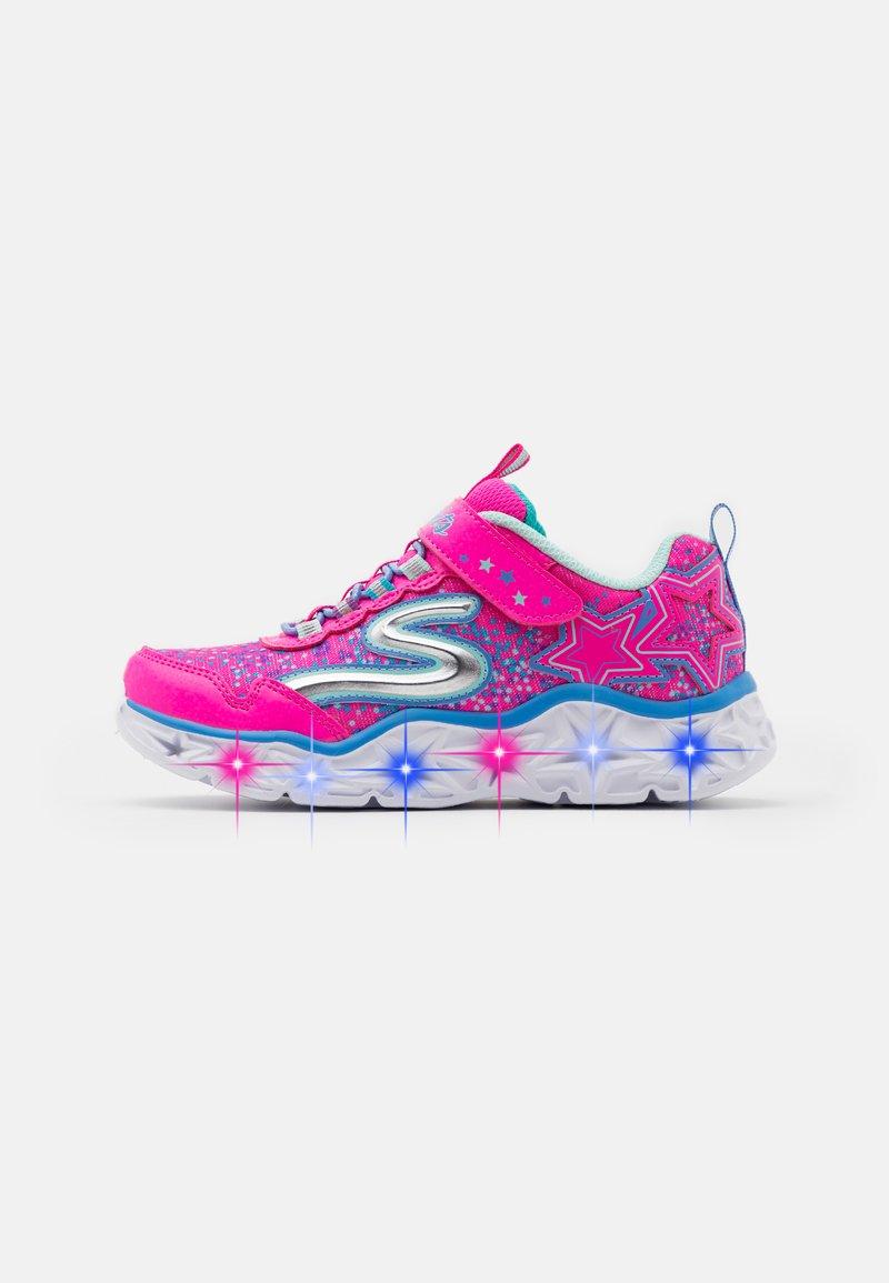 Skechers - GALAXY LIGHTS - Tenisky - neon/pink/multicolor