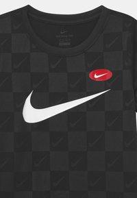Nike Performance - SOCCER UNISEX - Triko spotiskem - black - 2