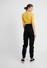 Missguided Tall - PLAIN TROUSER - Kangashousut - black - 2