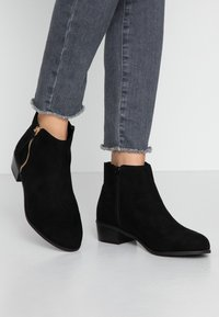 Faith Wide Fit - WIDE FIT WOOT - Ankle boots - black - 0