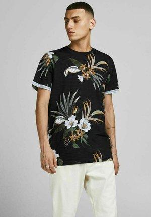BOTANIK - Print T-shirt - black