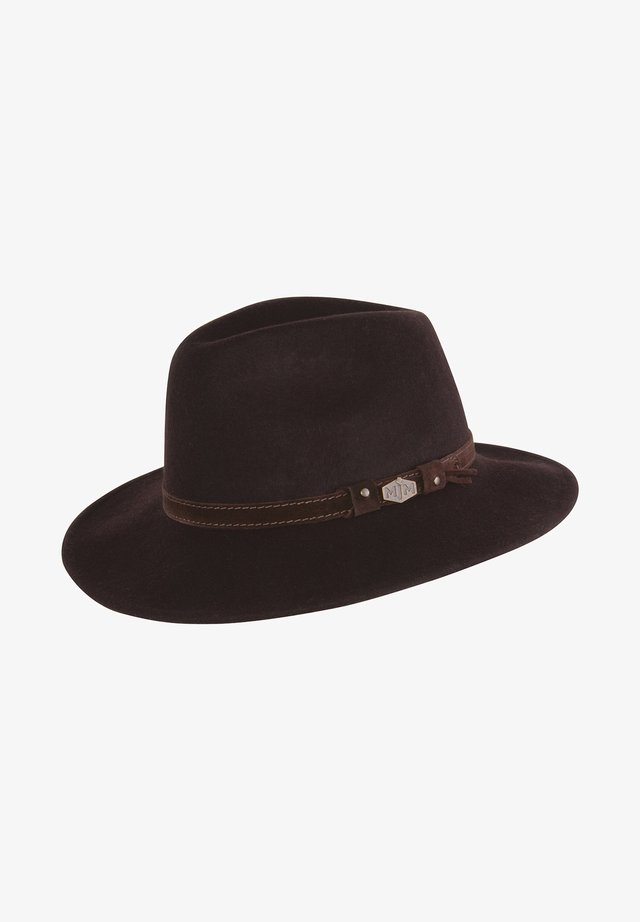 LEVI CRUSH - Hat - dark brown