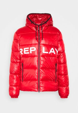 Winter jacket - ruby red