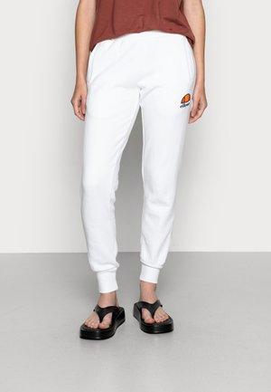 QUEENSTOWN - Spodnie treningowe - white