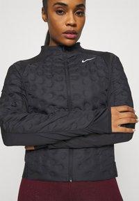 Nike Performance - Down jacket - black/silver - 5