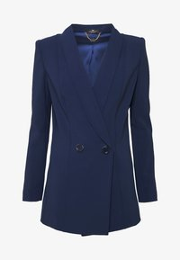 Elisabetta Franchi - Short coat - blue navy - 6