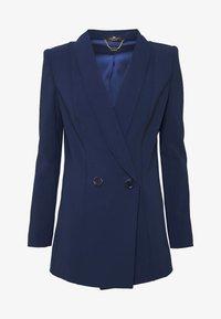 Krátký kabát - blue navy