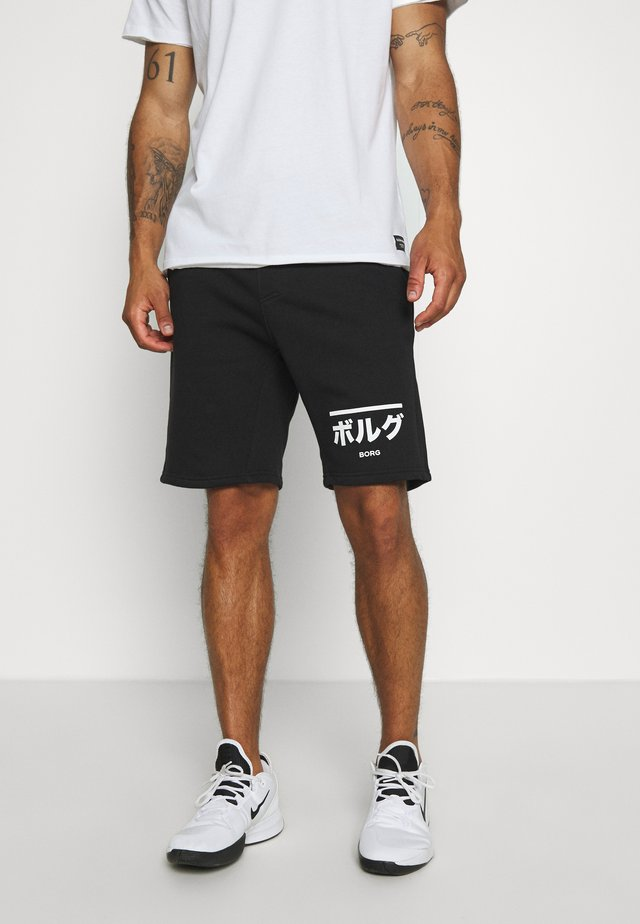 CENTRE - Sports shorts - black beauty