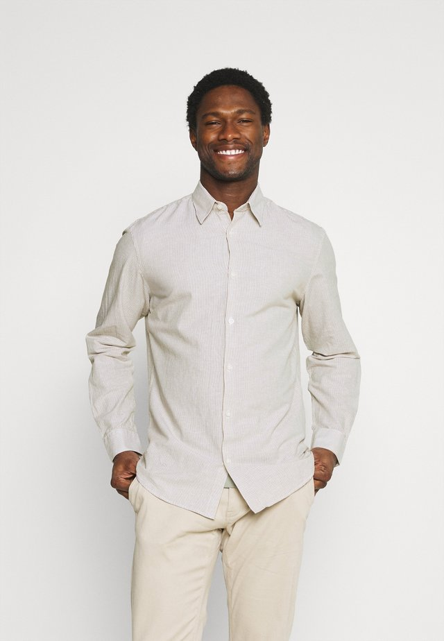 SLHSLIMNEW SHIRT - Camisa - dried herb