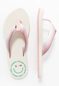 Tommy Jeans - SUSTAINABLE BEACH - Sandalias de dedo - sweet peach - 3