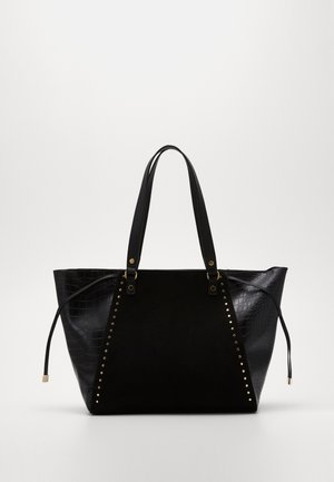 SAOIRSE SARA STUDDED NEW SAOIRSE - Shopping bag - black
