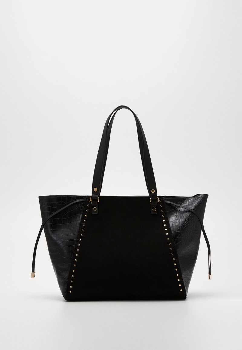 New Look - SAOIRSE SARA STUDDED NEW SAOIRSE - Tote bag - black