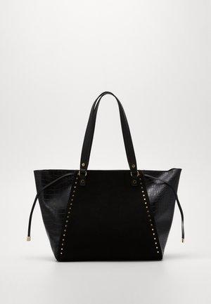 SAOIRSE SARA STUDDED NEW SAOIRSE - Shopping bag - black