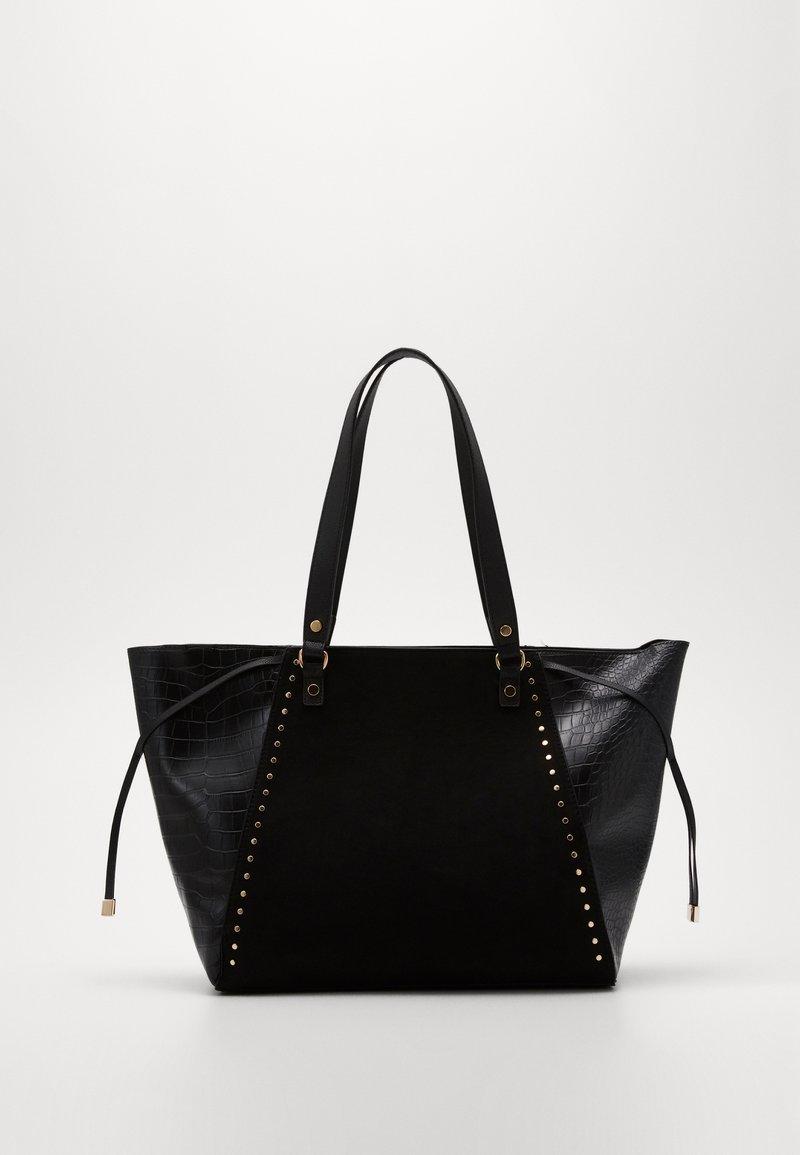 New Look - SAOIRSE SARA STUDDED NEW SAOIRSE - Torba na zakupy - black