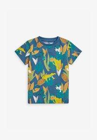 Next - Print T-shirt - teal - 0
