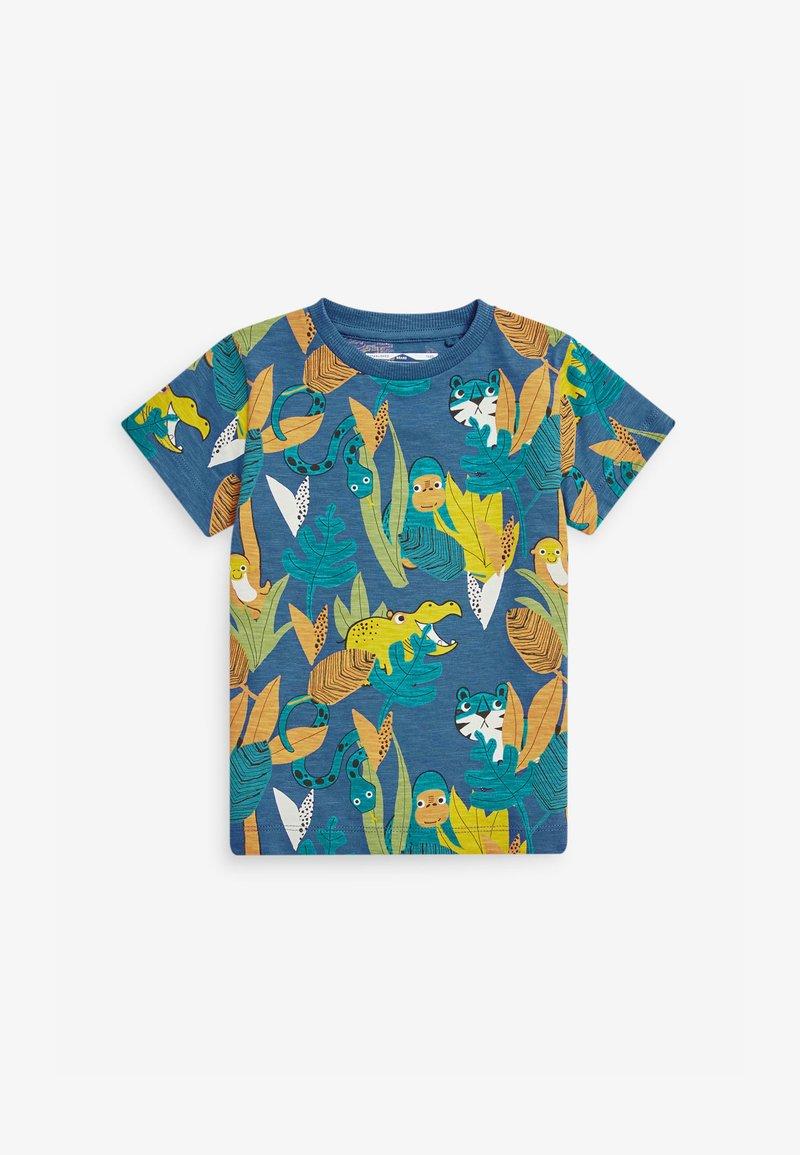 Next - Print T-shirt - teal