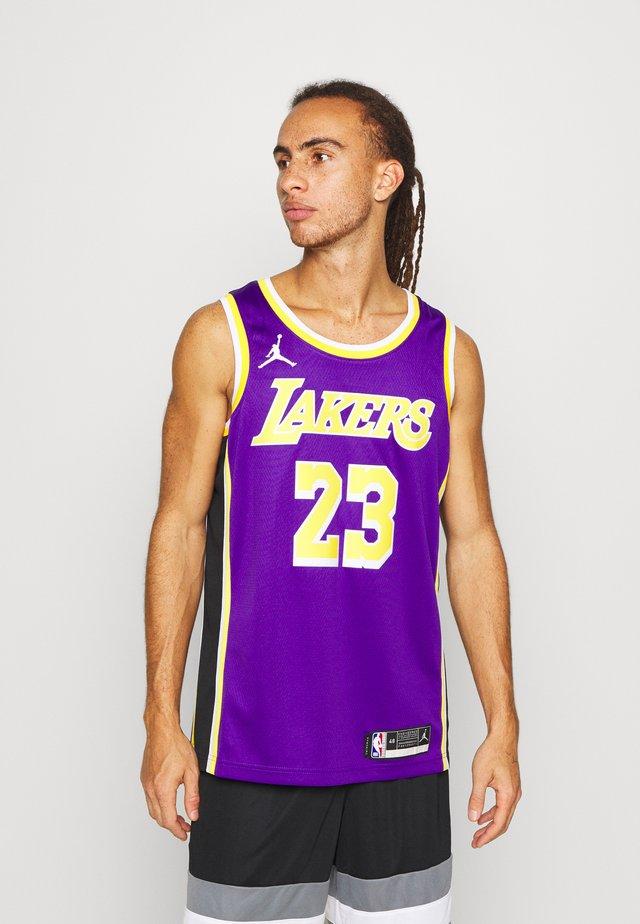 NBA LA LAKERS LEBRON JAMES SWINGMAN - Article de supporter - field purple