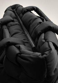 Mango - EDREDON - Shopping bags - noir - 3