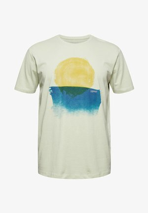ARTWORK - Print T-shirt - pastel green