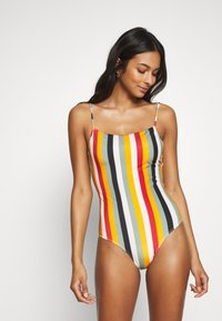 Monki - ALICE SWIMSUIT - Plavky - khaki/green - 0