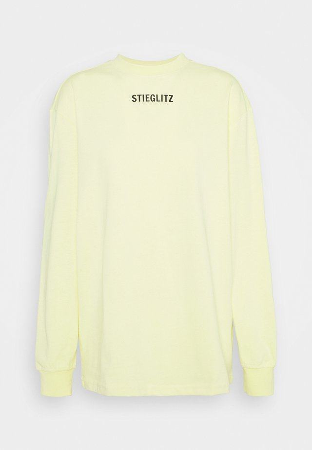 SKATE  - Long sleeved top - canary