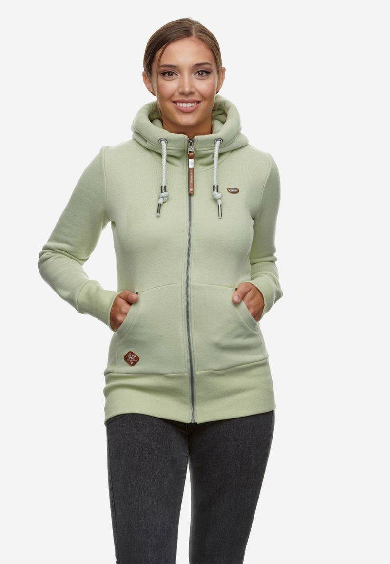 Ragwear - Sweater met rits - grün