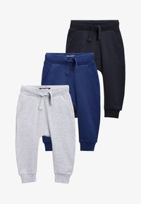Next - 3 PACK - Tracksuit bottoms - blue - 0