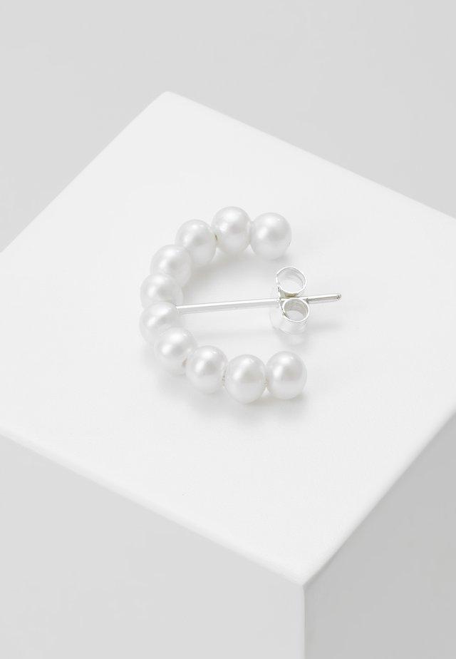 IRIS HOOP  - Boucles d'oreilles - silver