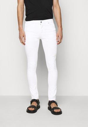 BASIC - Džíny Slim Fit - white