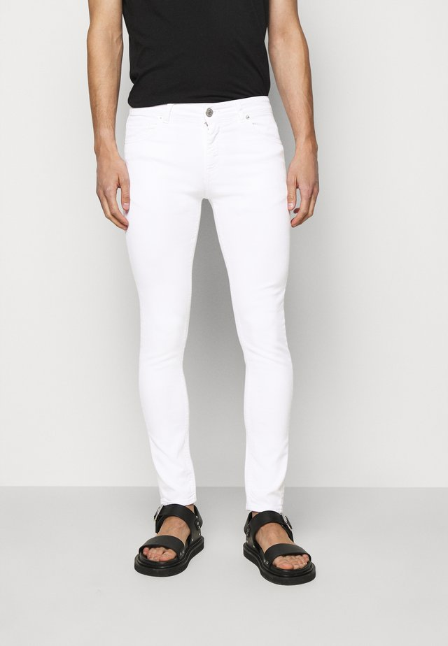 BASIC - Jeans slim fit - white