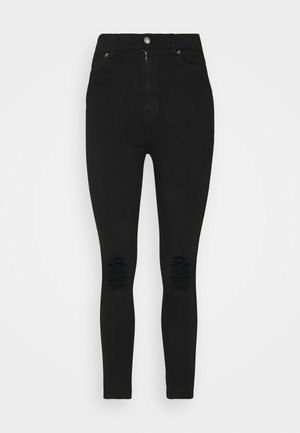 MOXY - Jeans Skinny Fit - black ripped knees