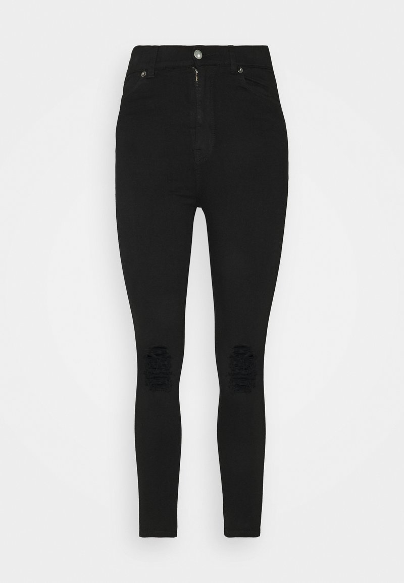 Dr.Denim Petite - MOXY - Jeans Skinny Fit - black ripped knees