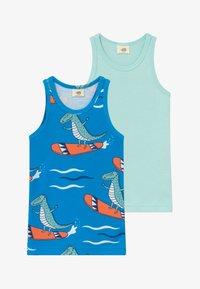 Walkiddy - CROCODILE SURFING 2 PACK - Undershirt - blue - 3