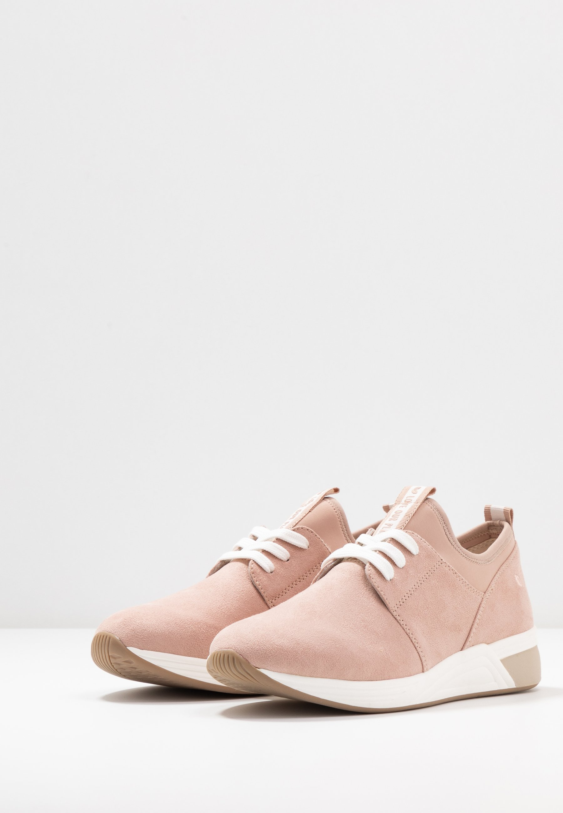 LACE UP Sneakers rose