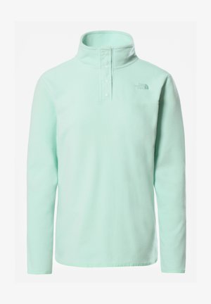 W TKA GLACIER SNAP-NECK PULLOVER - Fleece jumper - misty jade