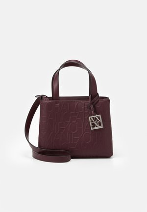 SMALL OPEN - Handbag - bordeaux