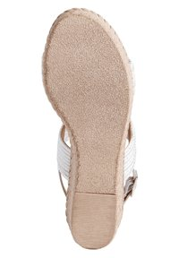 Jana - Platform sandals - white/silver - 3