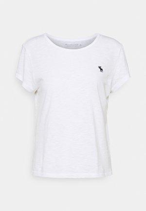 ICON CREW NECK TEE - T-shirt basique - white