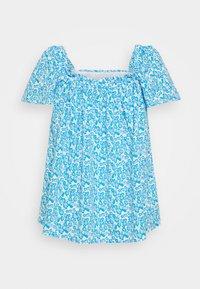 Fashion Union Plus - BEANA - Blouse - blue/white - 4