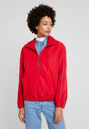 Summer jacket - primary red