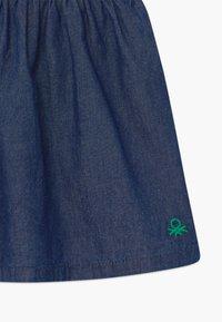 Benetton - DUNGAREE - Denim dress - blue - 3