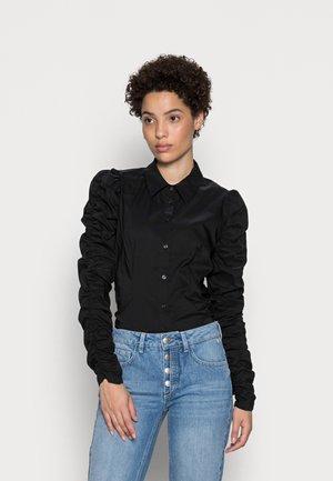 ANTOINETT - Button-down blouse - black
