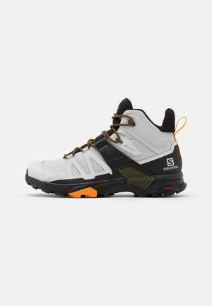 X ULTRA 4 MID GTX - Hiking shoes - lunar rock/magnet/buttersco