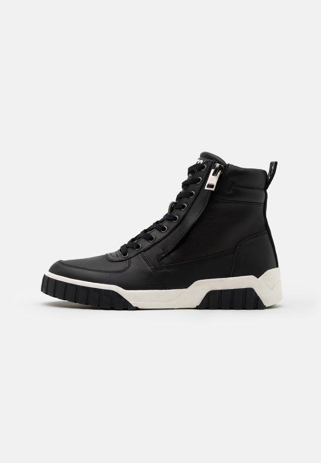 LE RUA S-RUA MID - Sneakersy wysokie - black